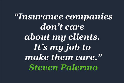 Quote by Steven Palermo, Esq.