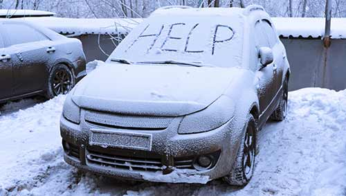 Car Problems Frozen Winter Fix Prevent