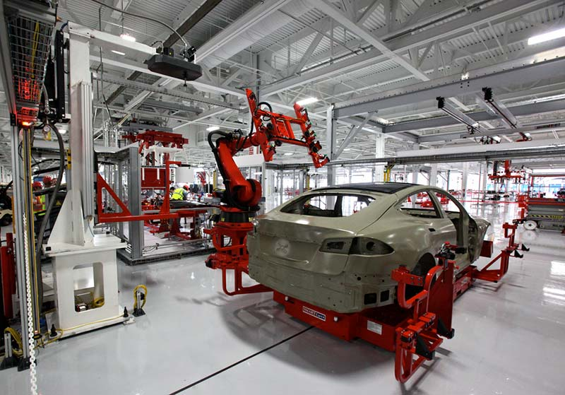 Tesla Car Factory Unsafe