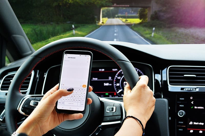 Textalizer Against Distracted Driving